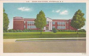 North Carolina Statesville Junior High School