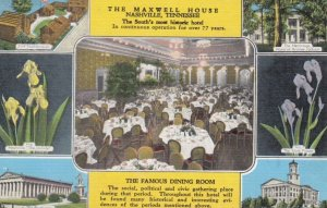 NASHVILLE , Tennessee, 1930-40s ; The Maxwell House, 7-views