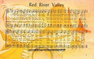 Red River Valley  Postcard Unused