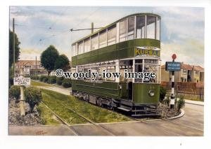 tm6033 - Southend Corporatiion Tram No.44 c1938 - Artist - G.S.Cooper - postcard