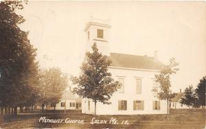 F21/ Solon Maine RPPC Postcard c1910 Methodist Church Building