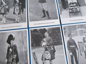 The British Army - SCOTTISH REGIMENTS Postcards Set of 6 by Geoff White Ltd