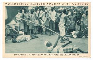 Djibouti Somalia Hamburg Amerika 1931 World Cruise Resolute