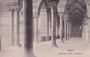 Italy Amalfi Porticato Della Cattedrale