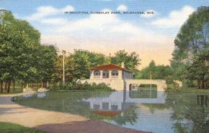 Beautiful Humboldt Park - Milwaukee WI, Wisconsin - Linen