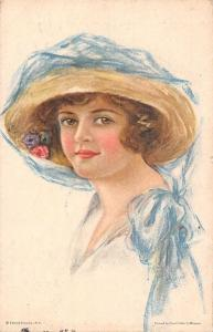 Beautiful Beauty Veil Fancy Hat, Lady Woman American Girl No. 78 Luella Fidler
