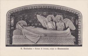 S. Scolastica, Statua Di Bronzo, MONTECASSINO, Italy, 00-10´