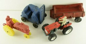 1930-40's Vintage Rubber Vehicle Lot Auburn