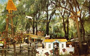 Silver Springs FL Nursery Storybook Land~Goat Tree~Cat on a Wire~Bartlett's 1956