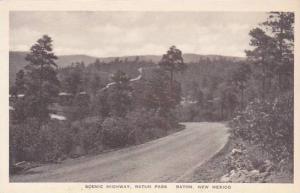 New Mexico Raton Scenic Highway Raton Pass Albertype