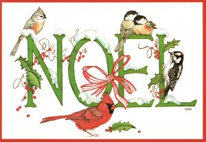 Christmas Noel Birds BIN