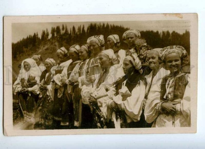 227136 Czechoslovakia GEMER procession OLD photo Karel Plicka