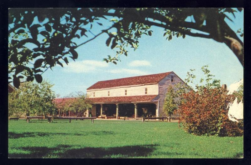 Shelburne Museum,Vermont/VT Postcard, The Shaker Building
