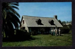 GA Tabby House Methodist ST SIMONS ISLAND Postcard PC