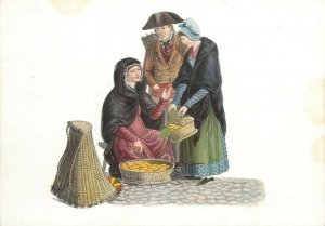 Switzerland swiss early folk costumes ethnic types Neuchatel