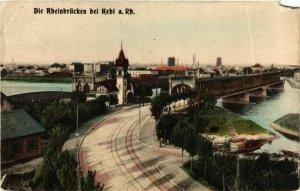 CPA AK Kehl- Rheinbrucken GERMANY (904107)