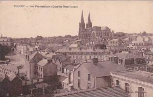 France Cholet Vue Panoramique Quartier Notre Dame
