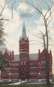 SPRINGFIELD, Ohio, PU-1921; Recitation Hall, Wittenberg College