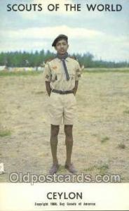 Ceylon Boy Scouts of America, Scouting Postcard, Post Cards, Copyright 1968  ...