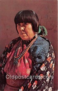 American Indian Woman Photo by Free Lance Photographers Guild, Inc Unused
