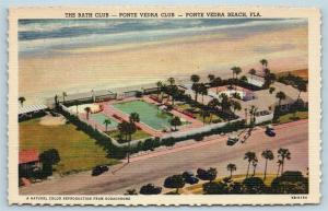 Postcard FL Ponte Vedra Beach Airview of The bath Club Ponte Vedra Club Linen S3
