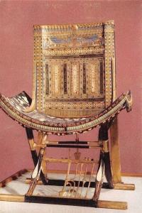Egypt Tutankhamen Third Set, The Ecclesiastical Throne, With Crossed Legs