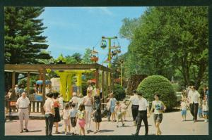 Canobie Park Salem New Hampshire Amusement Botanical Gardens NH Postcard