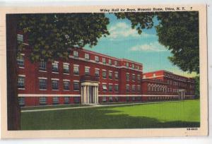 Utica NY - Wiley Hall for Boys, Masonic Home