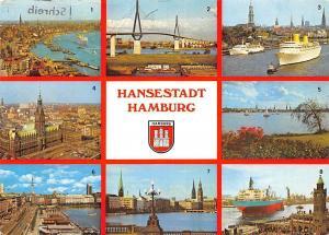 Hansestadt Hamburg, Hafne Koehlbrandhochbruecke Hafen Rathaus Aussenalster
