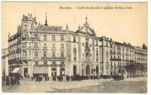 Calle De Alcala E Iglesia De San Jose, Madrid, Spain 00-10