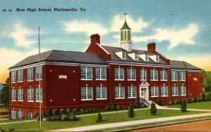 Virginia Martinsville New High School
