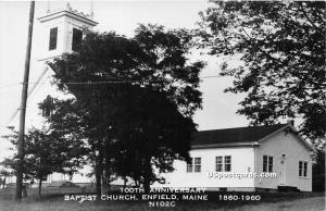 Baptist Church Enfield ME Unused