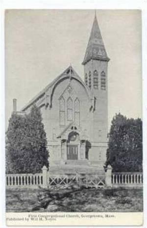 First Congregational Church, Georgetown, Massachusetts, 1920-40s