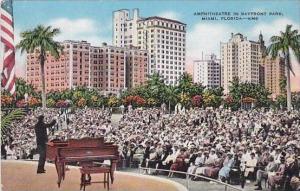 Florida Miami Amphitheatre Bayfront Park Piano Concert
