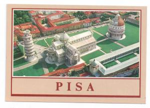 Italy Pisa Cathedral Square Leaning Tower Postcard 4X6