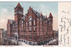 Pennsylvania Harrisburg High School 1911