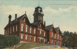 BARRIE , Ontario , Canada , 00-10s ; Court House