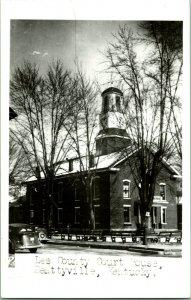 Vtg RPPC 1940s - Beattyville Kentucky KY - Lee County Court House UNP