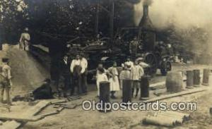 Iowa Sewer Workers Real Photo People Working Postcard Post Card, Old Vintage ...