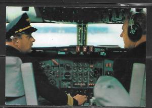 Lufthansa, Cockpit, Europa Jet, unused