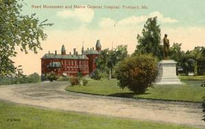 ME - Portland, Maine General Hospital & Reed Monument