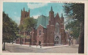 West Virginia Wheeling Thomson M E Church