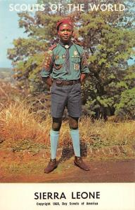 Scouts of the World: Sierra Leone (1968 Boys Scouts of America) Uniform