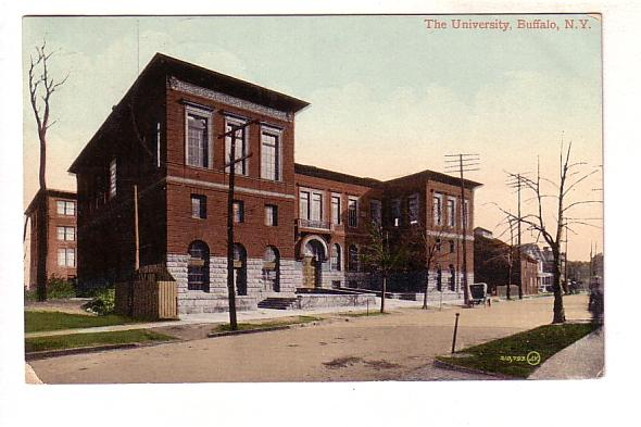 The University, Buffalo, New York, Ransomville Metal Handstamp Cancel