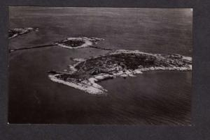 NH Star Isl Isles of Shoals Portsmouth New Hampshire Real Photo Postcard RP RPPC