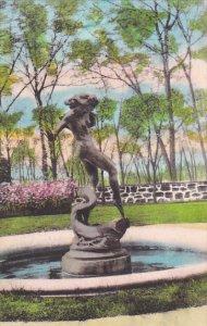 Humoresque Statue Valeria Home Oscawana New York Albertype