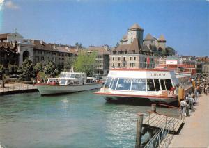 Br43714 Ship Bateaux Libellule Annecy Haute Savoie