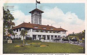 WINNIPEG , Manitoba , Canada , 1928 ; Pavilion at Assiniboine Park