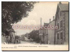 Postcard Old Delle Route De Belfort