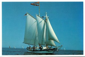 Maine Rockland Schooner Lewis R French Captain John Foss